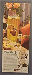 Vintage Ad: 1945 Cory All - Glass Coffee Brewer (Image1)