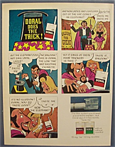 1971 Doral Cigarettes With Doral Does The Trick