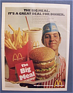 1971 Mc Donald's Restaurant with the Big Meal (Image1)