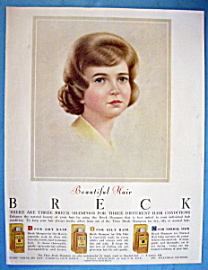1963 Breck Shampoo with Breck Woman (Image1)