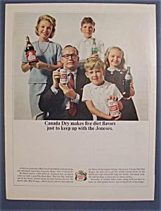 Vintage Ad: 1964  Canada  Dry (Image1)