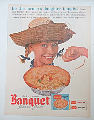 1964 Banquet Chicken Pie