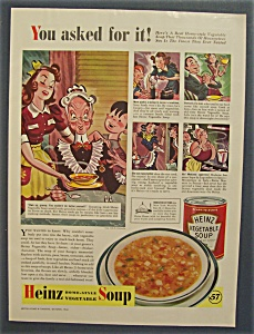 1940 Heinz Vegetable Soup