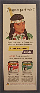 1962  Lowe   Brothers  Paints (Image1)