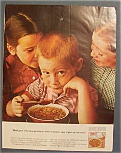 1965  Lipton  Beef  Flavor  Noodle  Soup (Image1)