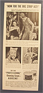 1940 Albolene Cleansing Cream W/ Helene Beck