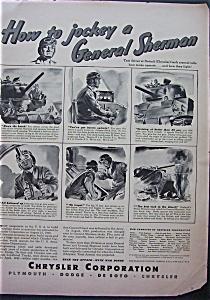 1943 Chrysler Corporation w/Jockey A General Sherman (Image1)