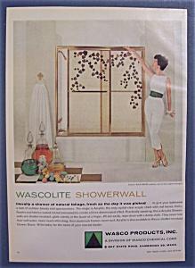 1959  Wascolite  Showerwall (Image1)