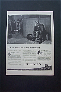 1943 Pullman with Soldier Waiting For The Train (Image1)