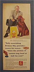 Vintage Ad: 1965 Friskies Mix with Capt. J. King Ross (Image1)