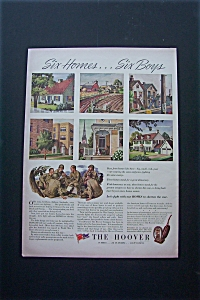 1943 Hoover w/Six Different Homes & Six Soldiers (Image1)
