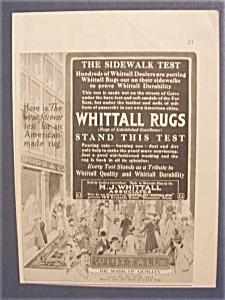 Vintage Ad: 1916  Whittall  Rugs (Image1)