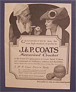 1918  J & P  Coats  Mercerized  Crochet (Image1)