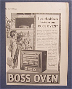 Vintage Ad: 1923  Boss  Oven (Image1)