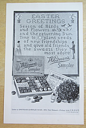 1932 Whitman's Sampler with Easter Greetings (Image1)