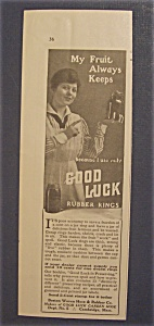 1916 Good Luck Rubber Rings