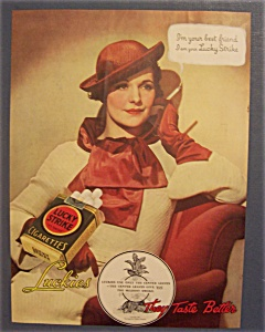 1935 Lucky Strike Cigarettes