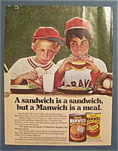 1979 Hunt's Manwich Sloppy Joe Sauce