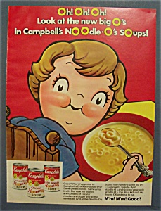 1974 Campbell's Noodle - O's Soups