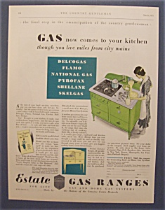 Vintage Ad: 1931  Estate  Gas  Ranges (Image1)