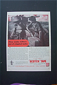 1943 Scotch Tape with Soldier Opening Box  (Image1)