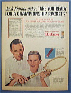 1963  Wilson  Tennis  Balls  with  Jack  Kramer (Image1)