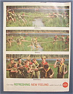 1962 Coca-Cola (Coke) with Group of Boy Scouts (Image1)