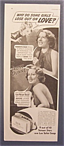 Vintage Ad: 1939 Lux Toilet Soap With Irene Dunne