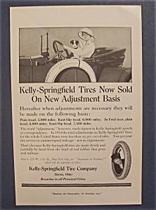 Vintage Ad: 1915 Kelly - Springfield Tire Company (Image1)
