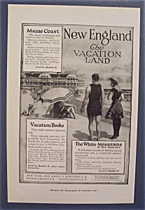 Vintage Ad: 1916 Vacation Books (Image1)