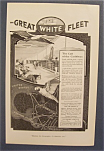 Vintage Ad: 1916 The Great White Fleet (Image1)