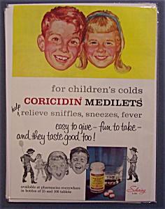 Vintage Ad: 1960 Coricidin Medilets (Image1)