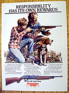 Vintage Ad: 1985 Crosman Air Guns