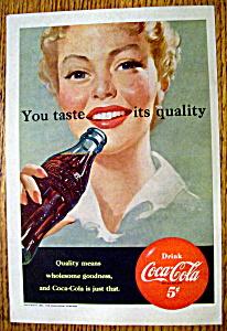 Vintage Ad: 1951 Coca-Cola (Image1)