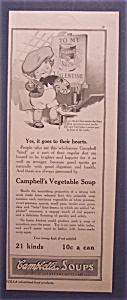 1916 Campbell Vegetable Soup With Campbell Kid Painting