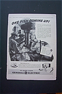 1943 General Electric Mazda Lamps With Soldier In Sub