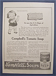 1918 Campbell's Tomato Soup