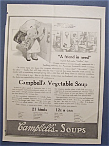 1918 Campbell's Vegetable Soup