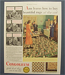 1933  Congoleum  Gold  Seal  Rugs (Image1)