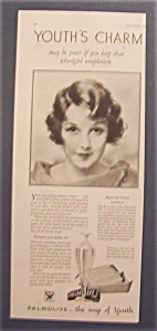 1933 Palmolive Soap with Woman's Lovely Face (Image1)