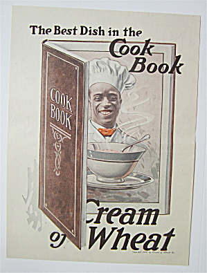 1918 Cream Of Wheat Cereal with the Cream of Wheat Man (Image1)