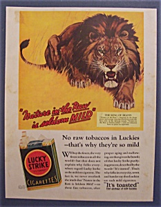 1932 Lucky Strike Cigarettes
