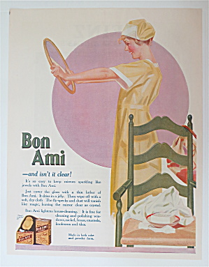 1920 Bon Ami with Woman Looking in a Clean Mirror (Image1)