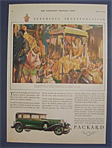 1930 Packard With Queen Bess Of England
