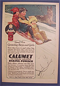 1926 Calumet Baking Powder By Norman Hall