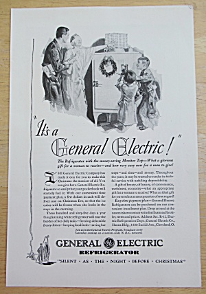 1930 General Electric Refrigerator w/ Surprise For Mom (Image1)
