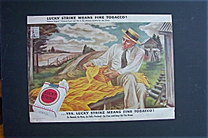 1943 Lucky Strike Cigarettes w/ Tobacco Expert by Jones (Image1)