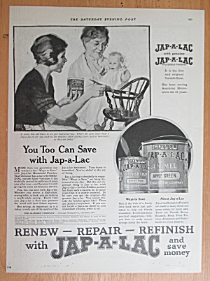 1921 Jap A Lac with Woman Painting High Chair  (Image1)