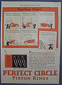Vintage Ad: 1929 Perfect Circle Piston Rings (Image1)