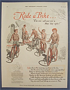 1929 Ride A Bike with a Group of Children & Their Bikes (Image1)